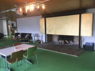 The original statement fireplace